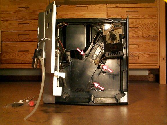 jura kaffeevollautomat brühgruppe reinigen